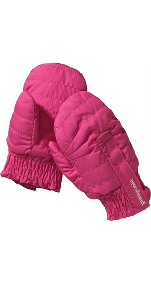 Patagonia Baby Puff Mitts Radiant Magenta